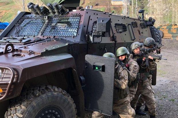 Van'da PKK-KCK operasyonunda 14  zanlı tutuklandı
