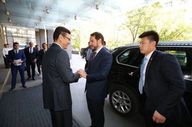 Enerji Bakanı Albayrak'tan Çin'de üçüncü nükleer santral teması!