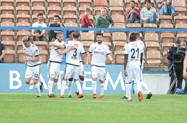 Atiker Konyaspor'dan kritik galibiyet!