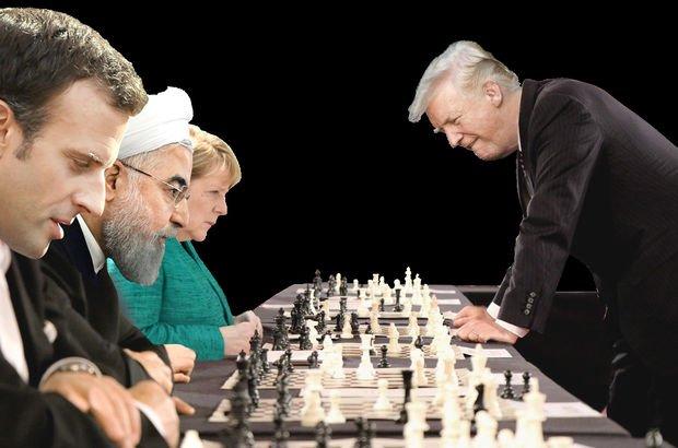 İran yaptırım ABD Donald Trump AB