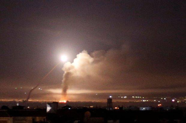 İsrail ordusu, İran güçlerinin Suriye'den İsrail'e 20 roket attığını duyurdu