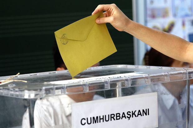 Cumhurbaşkanlığı seçimi YSK adaylar