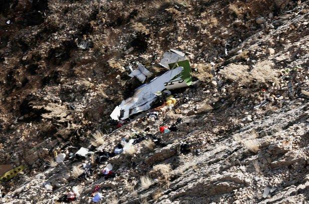 İran Pilot Beril Gebeş düşen özel jet