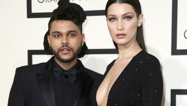 Bella Hadid ile The Weeknd dudak dudağa yakalandı - Magazin haberleri