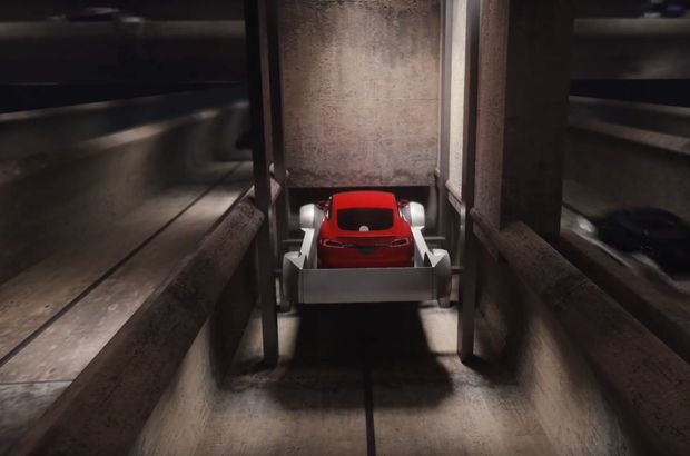 Elon Musk The Boring Company Tünel