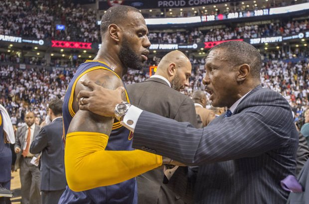 Dwane Casey LeBron James