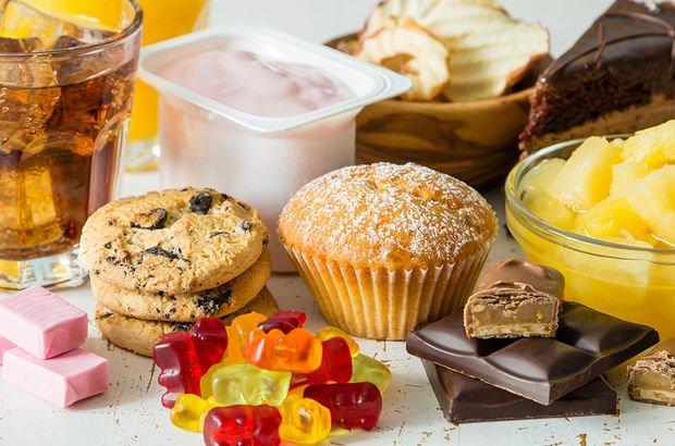 şekerli hazır gıdalar
