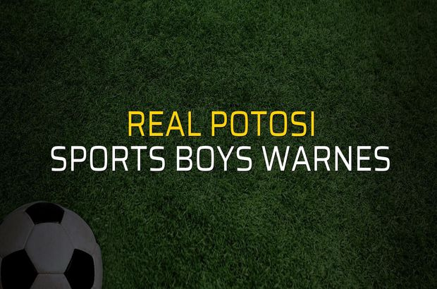 Real Potosi - Sports Boys Warnes maçı istatistikleri