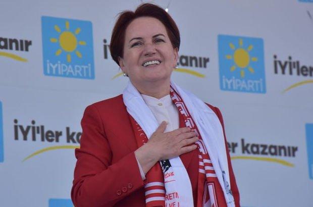 İYİ Parti lideri Akşener