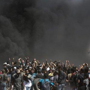 İSRAİL JETLERİNDEN GAZZE'YE HAVA SALDIRISI!