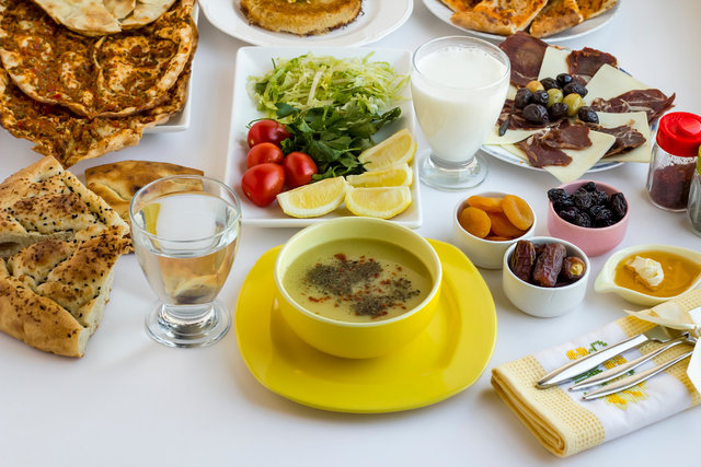 Ramazan'da tüketilmesi gereken besinler