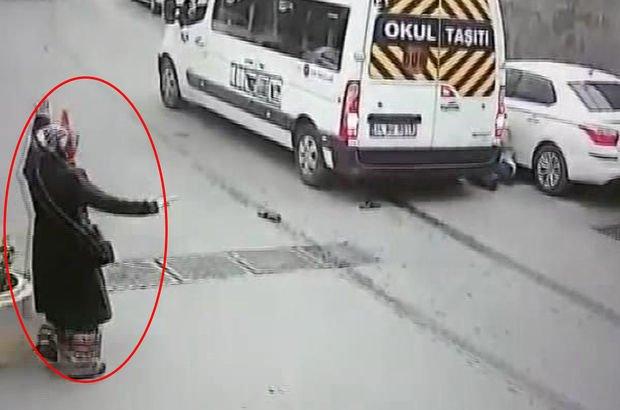 Sarıyer'de inanılmaz kaza