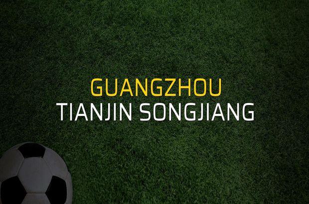 Guangzhou - Tianjin Songjiang sahaya çıkıyor