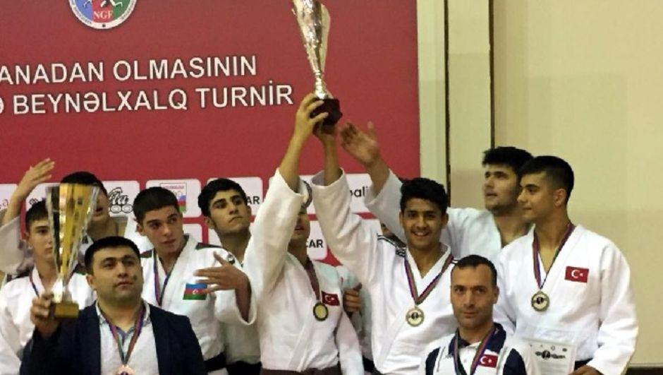Türkiye, Haydar Aliyev Turnuvası'nda üçüncü oldu