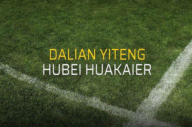 Dalian Yiteng - Hubei Huakaier sahaya çıkıyor