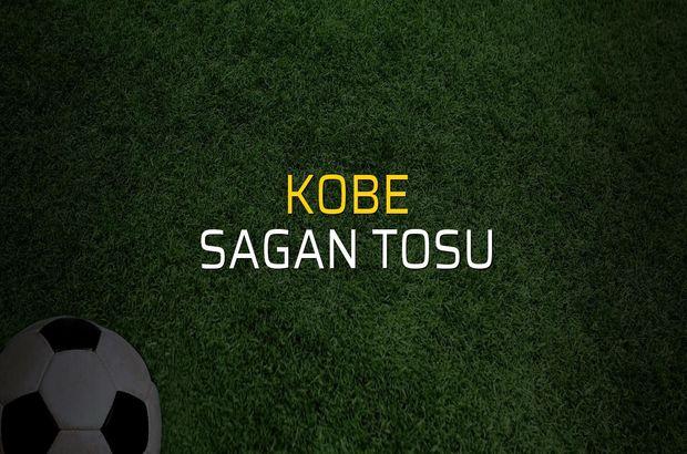 Kobe - Sagan Tosu sahaya çıkıyor