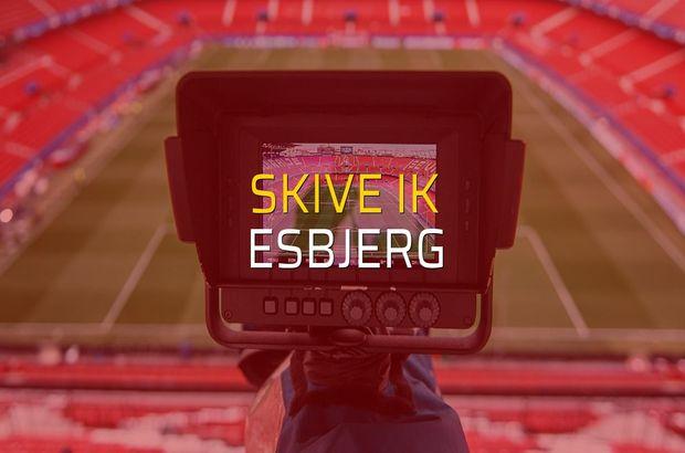 Skive IK - Esbjerg sahaya çıkıyor