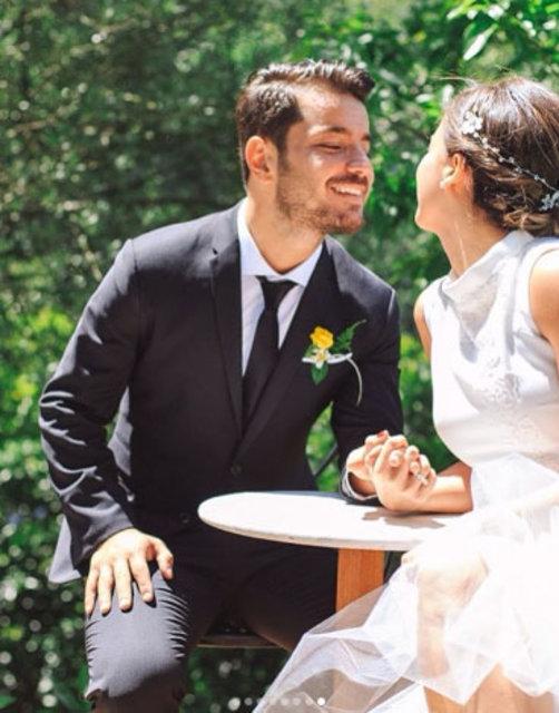Buse Terim Bahçekapılı evlilik yıldönümünü sosyal medya hesabı üzerinden kutladı - Magazin haberleri