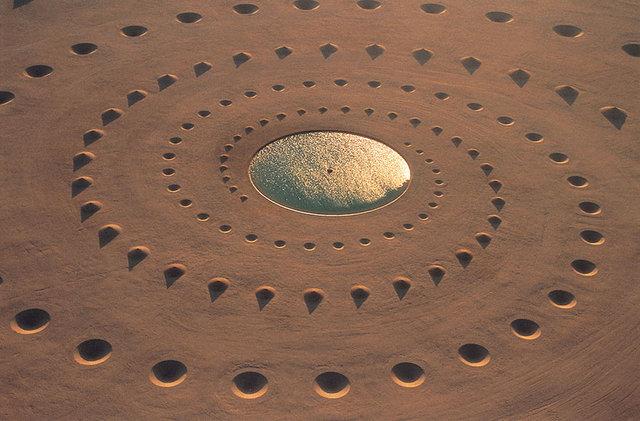 Yeryüzüne yapılan en ilginç sembollerden en nefes keseni: Çöl Nefesi