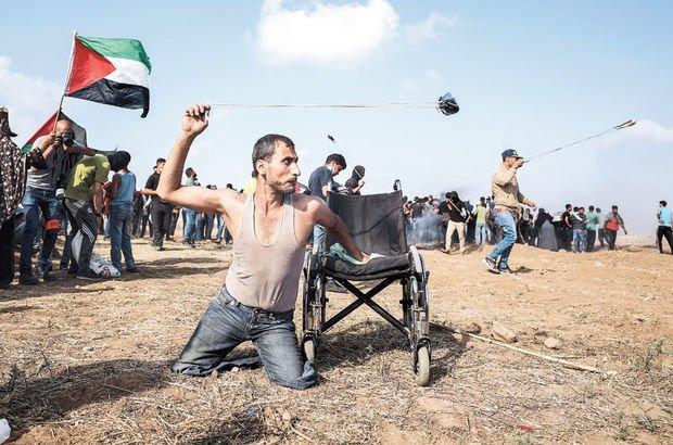 Fadi Ebu Salah Kudüs İsrail protesto Filistin