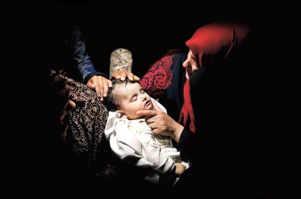 Leyla el Gandur İsrail Filistin  katliam