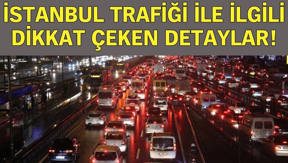 İstanbul trafiği ile ilgili dikkat çeken istatistik