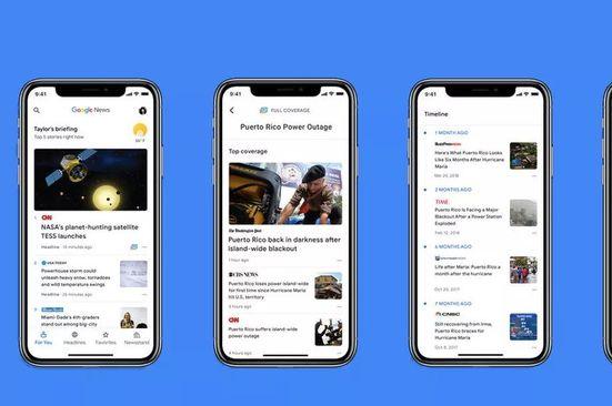 Yeni yapay zeka destekli Google Haberler yayınlandı