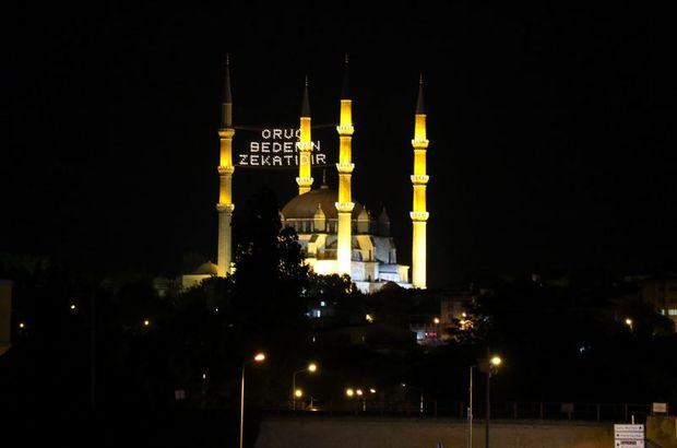 Edirne iftar vakti! 2018 Edirne'de iftara ne kadar kaldı? Edirne Ramazan İmsakiyesi