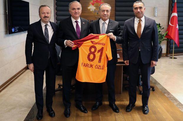 Başkan Cengiz, Bakan Özlü'yü ziyaret etti