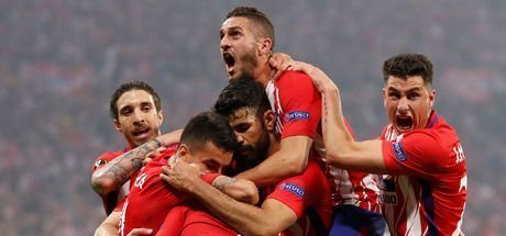 Marsilya Atletico Madrid MAÇ ÖZETİ! UEFA Avrupa Ligi'nde kazanan Atletico Madrid!