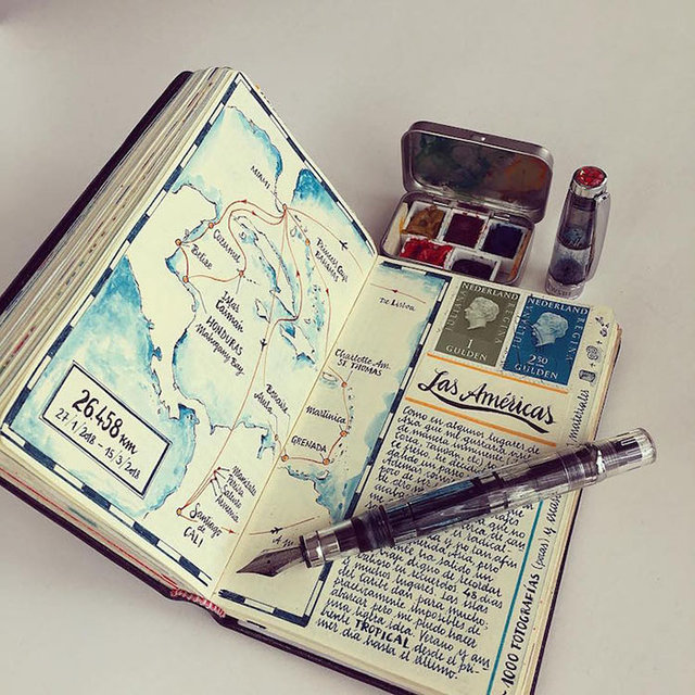 Not defterini sanata dönüştürdü