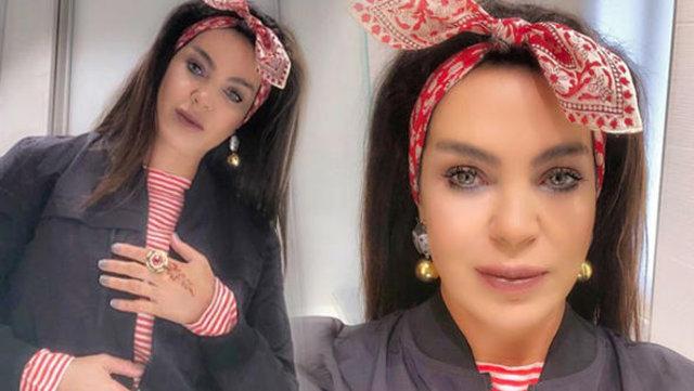 Esin Moralıoğlu'nun fotoğrafına uyguladığı photoshop dikkat çekti