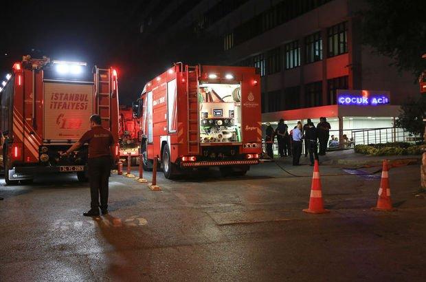 Bezmialem Tıp Fakültesi Hastanesinde yangın çıktı