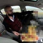 Ağızları açık bırakan görüntü sonrası gözaltına alındı!