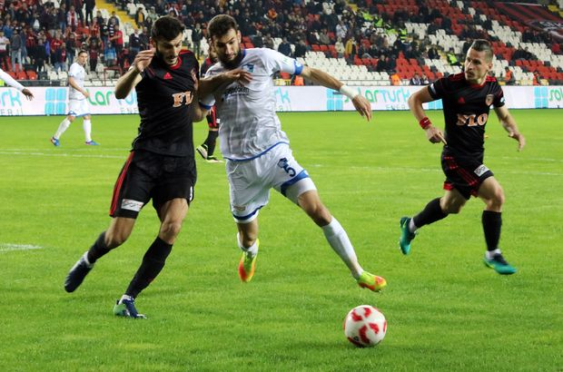 Gazişehir Gaziantep Büyükşehir Belediye Erzurumspor maçı