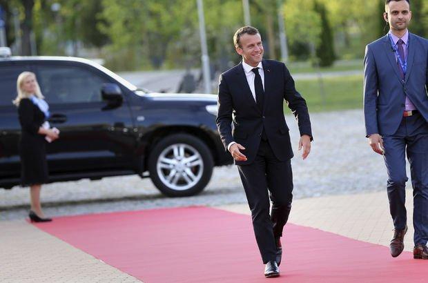 Macron:  İran ile çalışan şirketlerimizi ABD'den koruyacağız