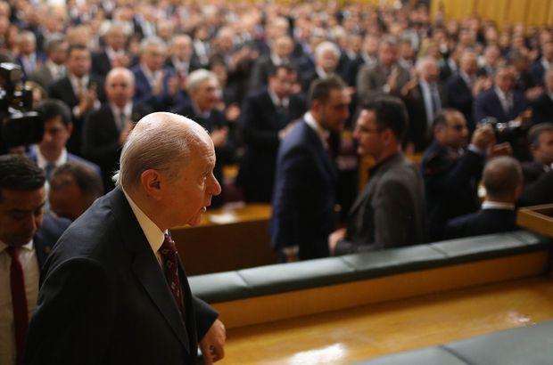 MHP lideri Bahçeli