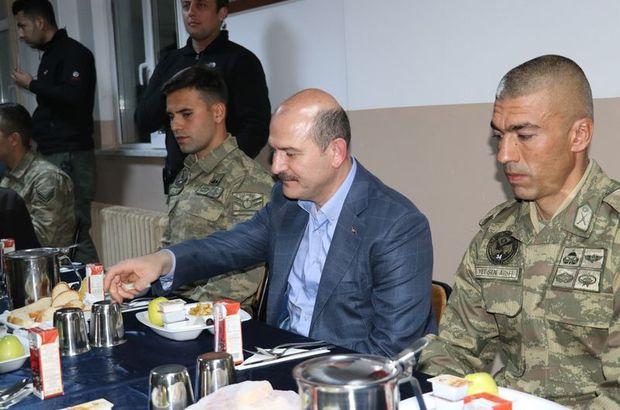 Süleyman Soylu sahur Hakkari