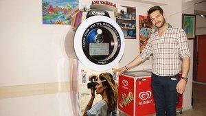 Ankaralı girişimciden selfie otomatı