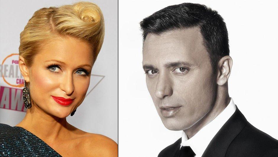 Paris Hilton - Mustafa Sandal - Dosso Dossi Fashion Show