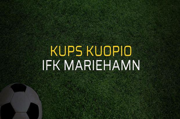 KuPS Kuopio - IFK Mariehamn karşılaşma önü
