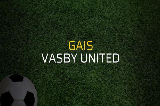 GAIS - Vasby United maçı heyecanı