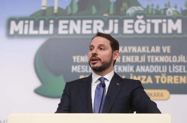 Enerji ve Tabii Kaynaklar Bakanı Berat Albayrak Muhtarlar