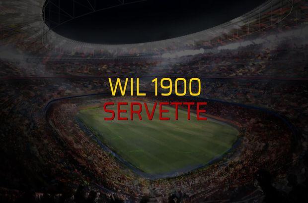 Wil 1900 - Servette sahaya çıkıyor