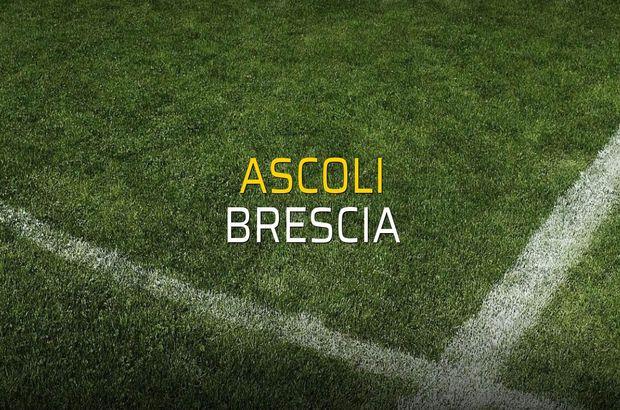 Ascoli - Brescia düellosu