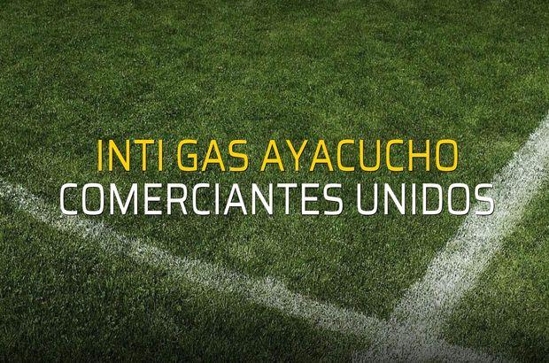 Inti Gas Ayacucho - Comerciantes Unidos maçı heyecanı