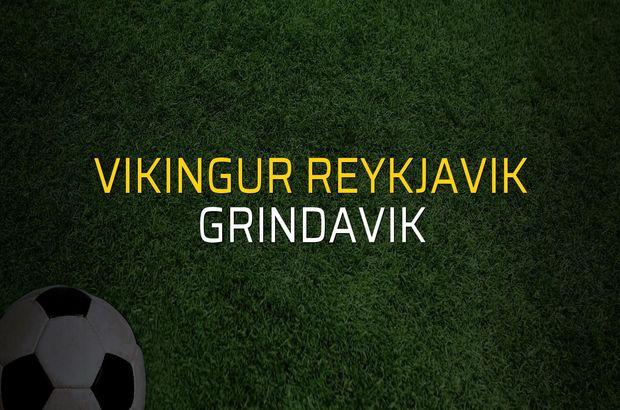 Vikingur Reykjavik - Grindavik maç önü