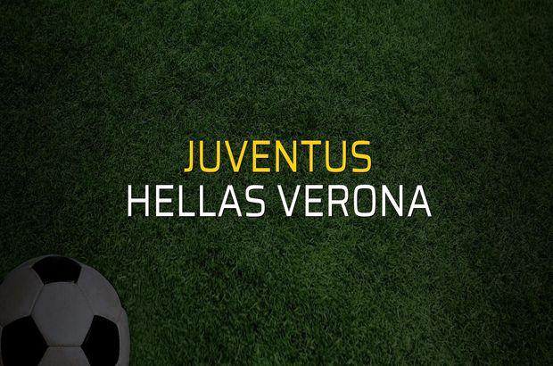 Juventus - Hellas Verona maç önü