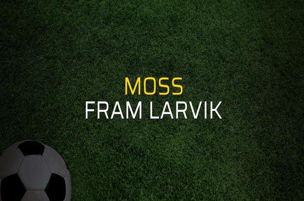 Moss - Fram Larvik düellosu