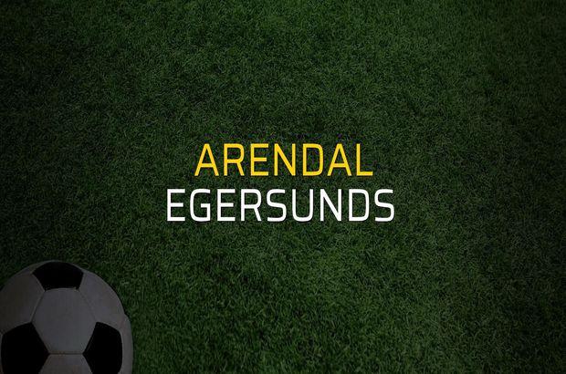 Arendal - Egersunds  rakamlar